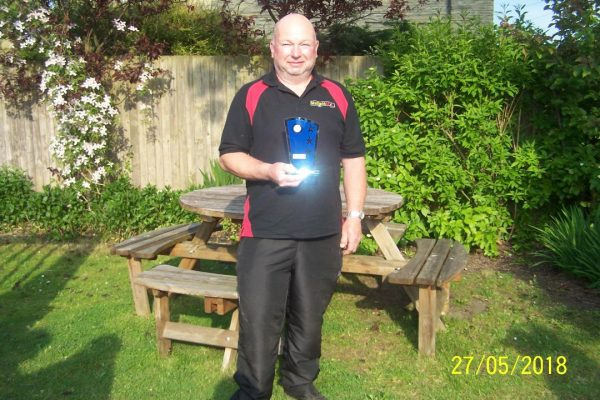 Paul Benett Individual Winner -Teams of 4
