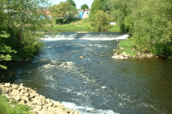 1 of 3 Exciting and Challenging weir pools on our club waters